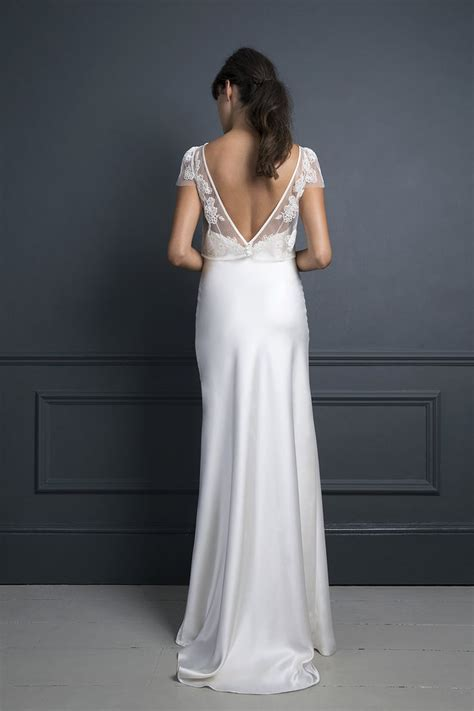 Best 25  Slip wedding dress ideas on Pinterest   White