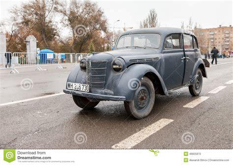 German Car Opel by Vintage German Car Opel Kadett 1939 Editorial Image
