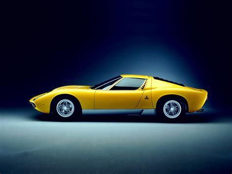 1971 Lamborghini Miura P400 Sv 1971 1973 Lamborghini Miura P400 Sv Lamborghini