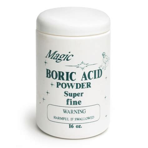Bor Ic Boric Acid Powder Contenti