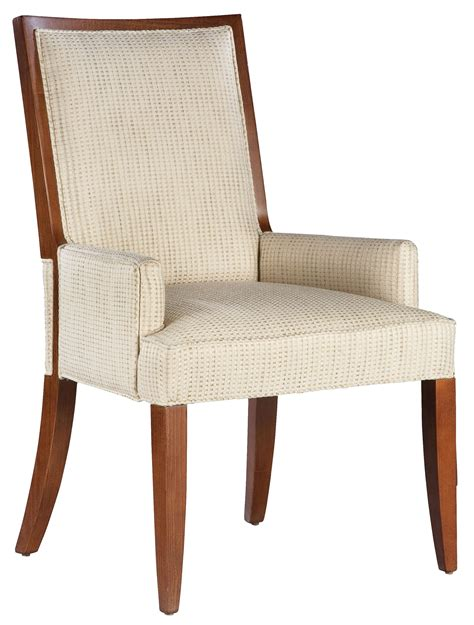Dining Room Arm Chair Fairfield Fairfield Dining Chairs Contemporary Dining Room Arm Chair With Exposed Wood Accents