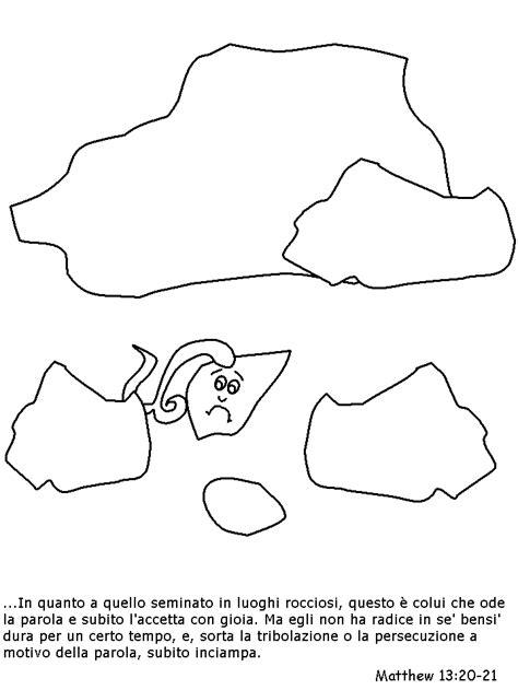 nel giardino degli angeli schede disegni da colorare sulla creazione mondo per bambini