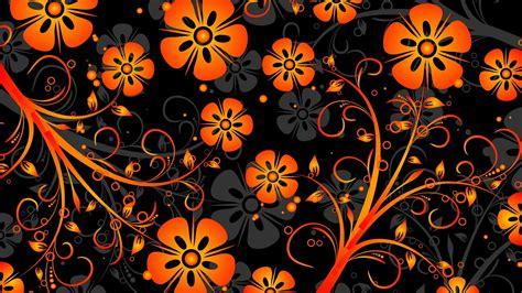 Colors Of Orange orange flowers texture vector abstract wallpaper