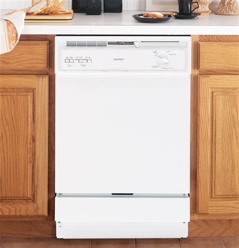 Hotpoint 174 Built In Dishwasher Hda3500nww Ge Appliances