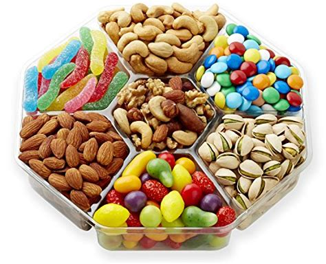 holiday gourmet food nuts gift basket 7 different nuts five star gift baskets roasted nuts chocolate gift basket 7 delicious different varieties gluten free