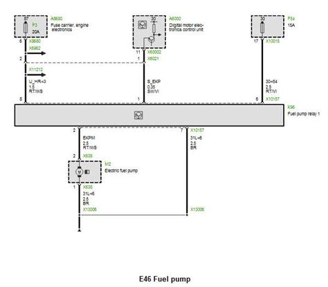 e46 fuel wiring diagram 28 wiring diagram images