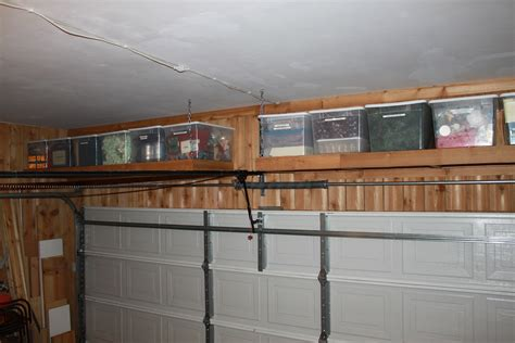 shelves the garage door the cavender diary