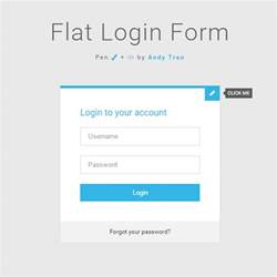 login panel template free 50 free html5 and css3 login form for your website 2017