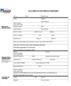 incident accident report sample sample accident incident report 6 examples in pdf word sample incident report form 9 examples in word pdf