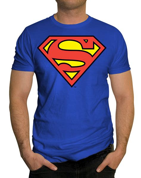 T Shirt Superman buy superman t shirt blue cotton in india