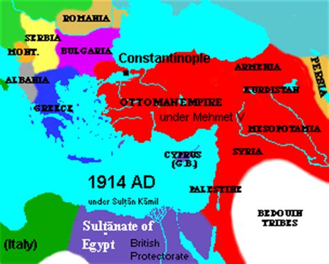 why did the ottoman empire entered ww1 ottoman empire after ww i