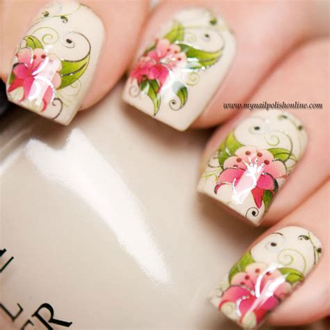 Nail Decals by Nail With Water Decals My Nail
