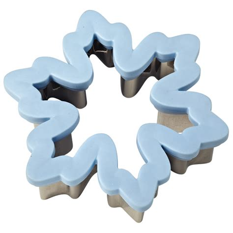 Wilton Comfort Grip Cookie Cutters by Wilton Snowflake Comfort Grip Cookie Cutter
