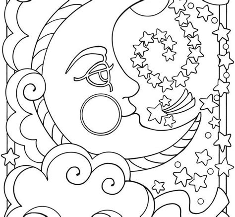 moon coloring page pdf 95 free printable moon coloring pages sailor moon