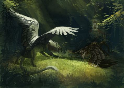 A Place Creature G Enyo Gryphon 1 By Peregyr On Deviantart