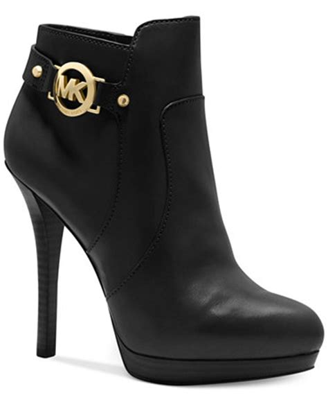 mk shoes macy s michael michael kors wyatt platform booties shoes macy s