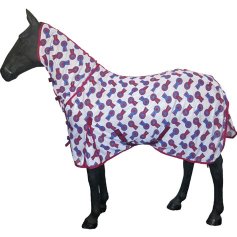 Equi Theme Fly Rug by Fly Mask Without Ears Gear