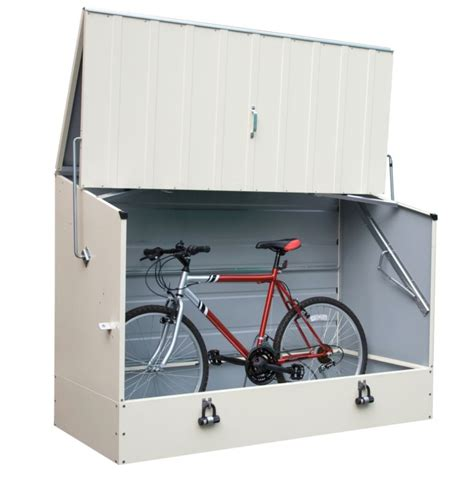 trimetals high security metal bike shed in what shed
