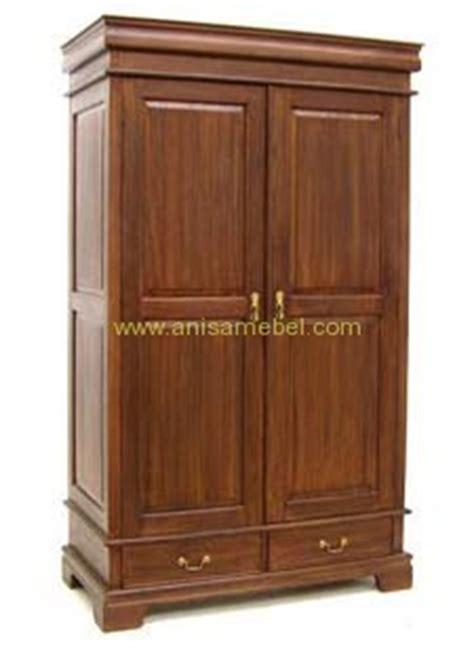 Lemari Kayu Jati Pintu 2 mebel jepara furniture minimalis kayu jati harga murah lemari pakaian 2 pintu