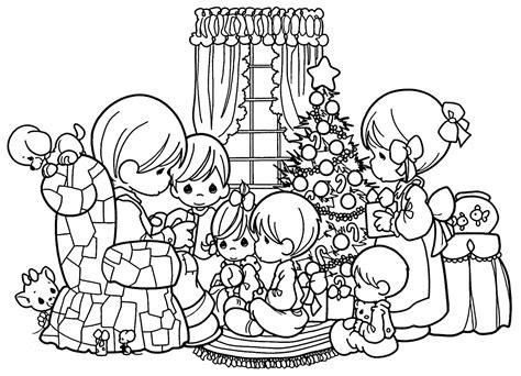 imagenes de niños navidad para colorear dibujos de navidad para colorear im 225 genes navidad para
