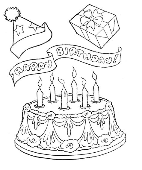coloring pages for adults birthday birthday coloring pages for adults az coloring pages