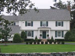 portico on colonial house ways to hold title on your home