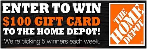 Home Depot Survey Sweepstakes - home depot sweepstakesbible