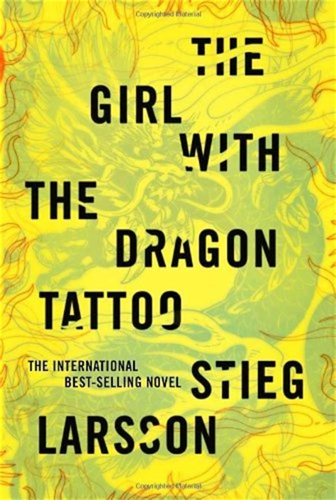 author of the girl with the dragon tattoo the with the book cover archive