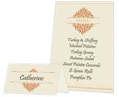free thanksgiving printable menu and place cards smilebox