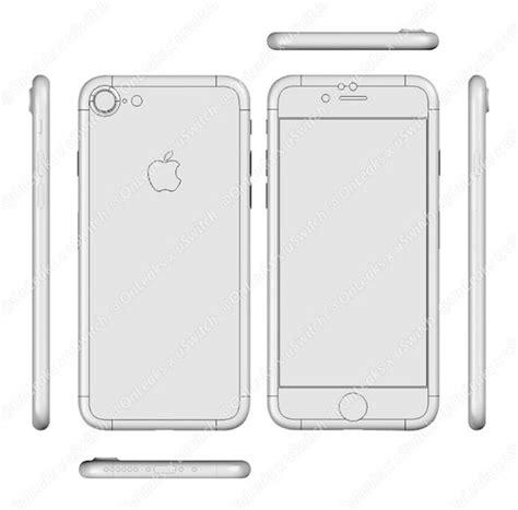 un nuevo dibujo iphone 7 vuelve a confirmar que ser 225 casi id 233 ntico al iphone 6s iphonea2