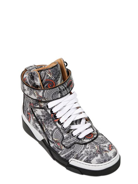 givenchy tyson high top sneakers for lyst