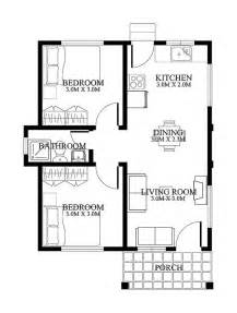 Small Floor Plans Small House Designs Shd 20120001 Pinoy Eplans