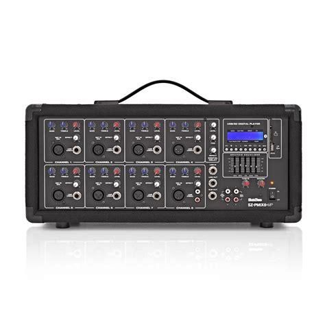 subzero szpa 815 300w pa system with digital media player box opened at gear4music