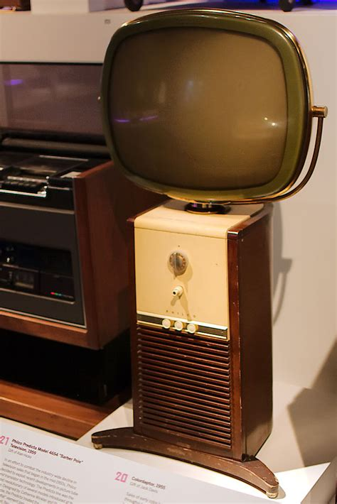 when did the color tv come out philco predicta television 1958 1960