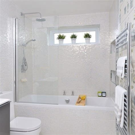 35 Small White Bathroom Tiles Ideas And Pictures Small Bathroom Tiles Ideas