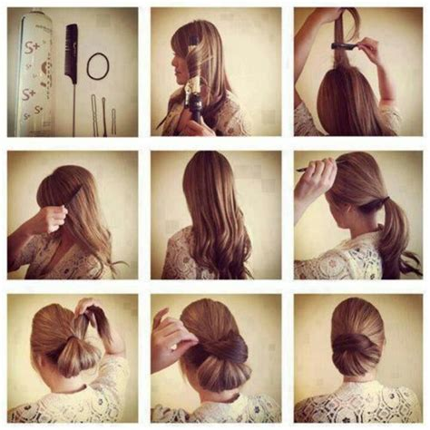Hairstyles Buns Step By Step by Step By Step How To Do A Low Bun Hairdos Hair