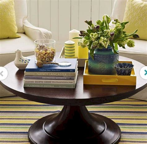 coffee table decorations round coffee table decor round coffee table decor design ideas and photos