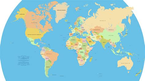 world s vector world map a free accurate world map in vector format