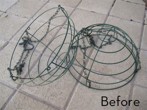 how to turn wire baskets into a fairy light globe 187 curbly