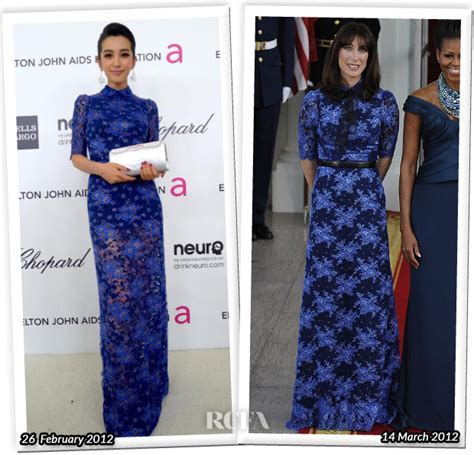 Who Wore Better Carpet Style Awards 2 by Who Wore Alessandra Rich Better Li Bingbing Or