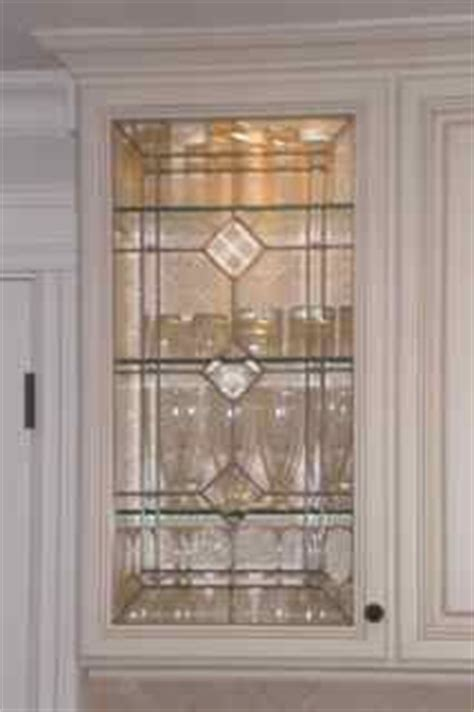 custom leaded glass cabinet doors beveled glass inserts for my kitchen cabinets done by sgo