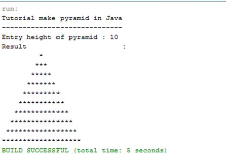 java program to print pyramid pattern of stars blog archives