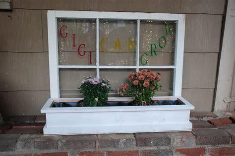 vintage window boxes window turned flower box windows repurposed