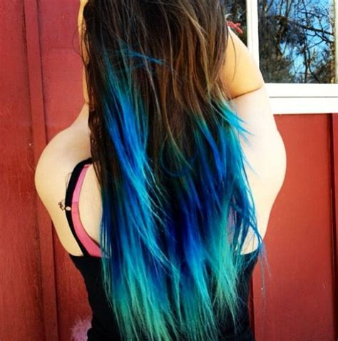 is ombre blue hair ok for 17 delightful diy hair dye that you need to try this f