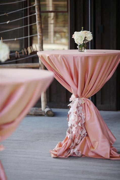 WEDDING Cocktail Hour Decor   Table Design   Linens