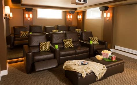 basement media room how to choose the right color for your media room