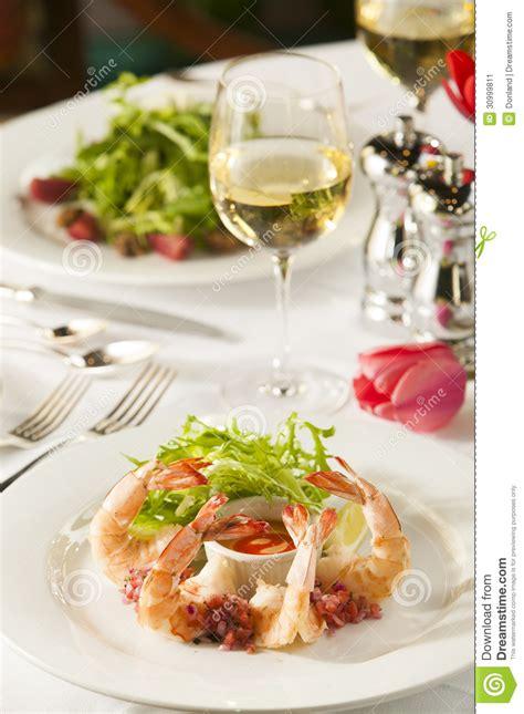 Fancy Shrimp Cocktail Appetizer. Stock Image   Image: 30999811