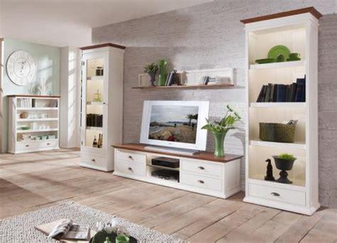 wohnzimmermöbel holz landhaus wow landhaus wohnzimmer set altwei 223 wohnwand lowboard