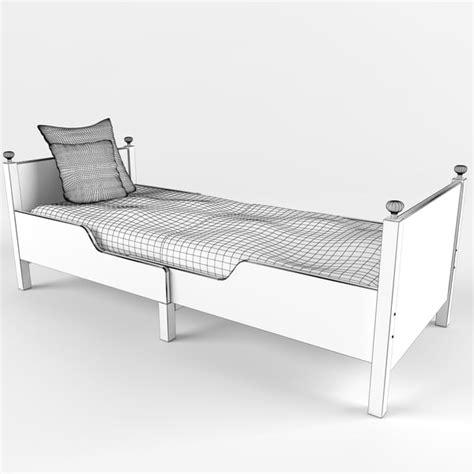 Leksvik Crib by Ikea Leksvik Bed 3d Max