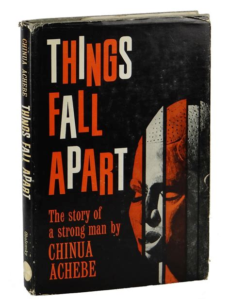 the one apart a novel books things fall apart the story of a strong by chinua